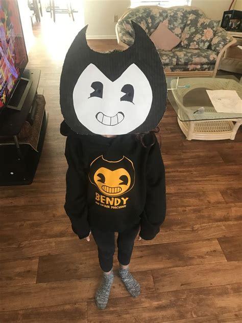 diy bendy   ink machine costume bendy   ink