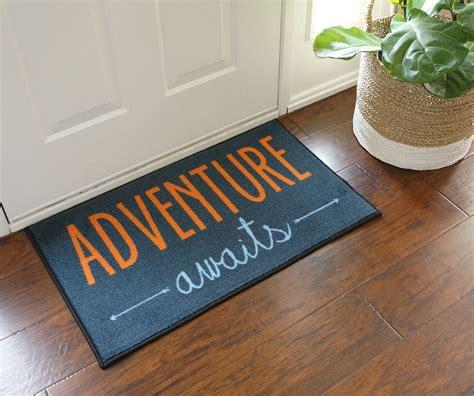 Door Doormat by Adventure Awaits Door Mat Floormatshop Commercial