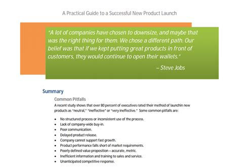 product launch plan template launching your spaceship the essentials of product launch