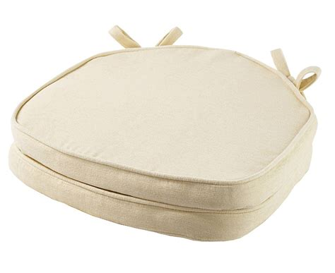 shaped seat pads venice shaped seat pads pair buttermilk