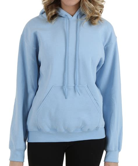 plain light blue hoodie light blue hoodie womens fashion ql