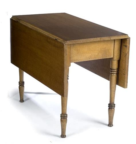 Maple Drop Leaf Table Tiger Maple Drop Leaf Table 2193331