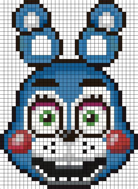 pixel bead patterns bonnie perler bead pattern bead sprite s