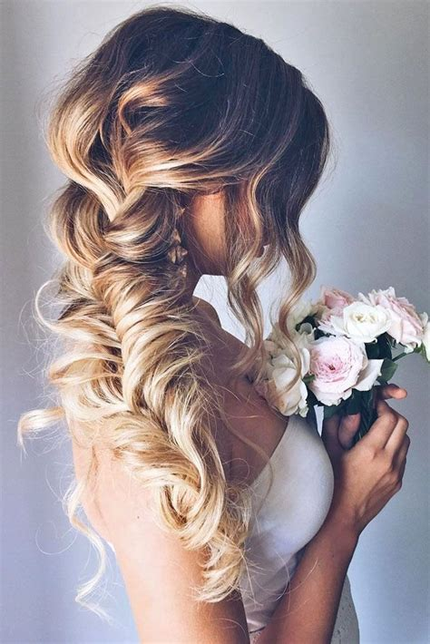 208 best wedding hairstyles images on pinterest bridal best 25 fishtail wedding hair ideas on pinterest