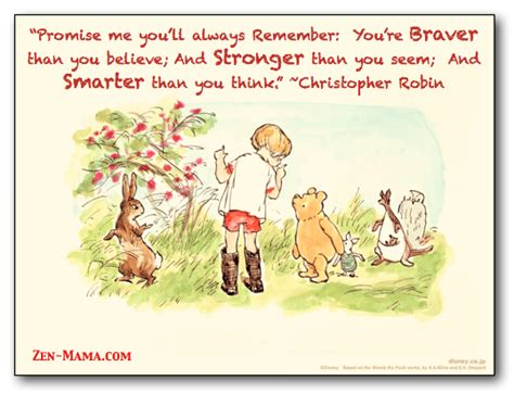 Winnie The Pooh Birthday Quotes Owl Christopher Robin Quote The Zen Mama S Blog