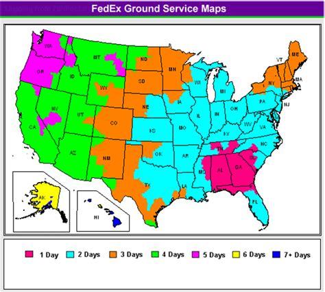 fedex ground map fedex ground map map2
