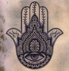 hamsa tattoo meaning symbolism