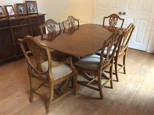 Yew Dining Room Furniture Yew Dining Chairs For Sale In Uk View 44 Bargains