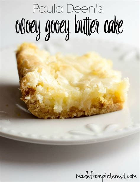 paula deen recipes paula deen s ooey gooey butter cake recipe ooey gooey