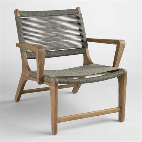 World Market Lounge Chair by Gray Rapallo Outdoor Lounge Chair World Market