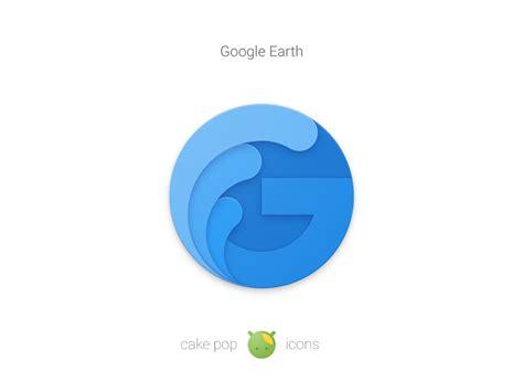 Material Design Icon Earth   google earth materialup