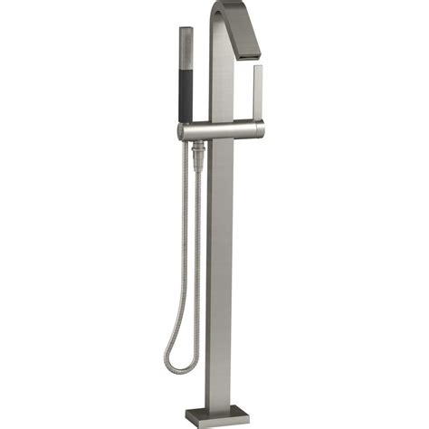 Delta Kitchen Faucets Reviews Kohler Loure Polished Chrome Freestanding Tub Only Faucets