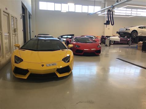 lamborghini dealership inside take a look inside the s largest lamborghini