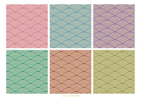 pattern retro vector retro pattern vector set download free vector art stock