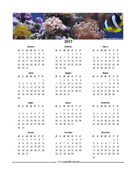 Calendario Word 2017 Calendario In Formato Word 2017