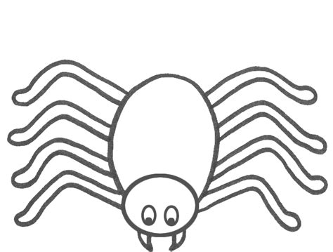 Spider Template by Free Spider Coloring Pages Coloring