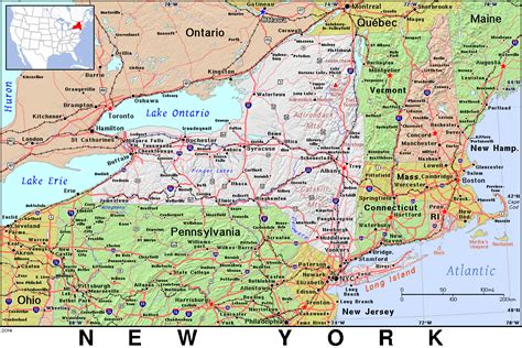map of upstate new york map of upstate n y pictures to pin on pinsdaddy