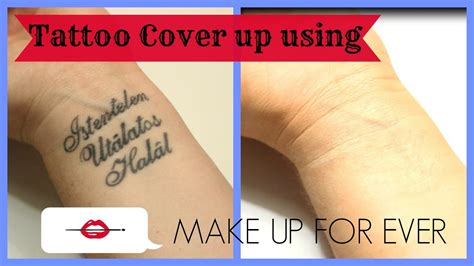 tattoo cover up foundation cover up using make up for products