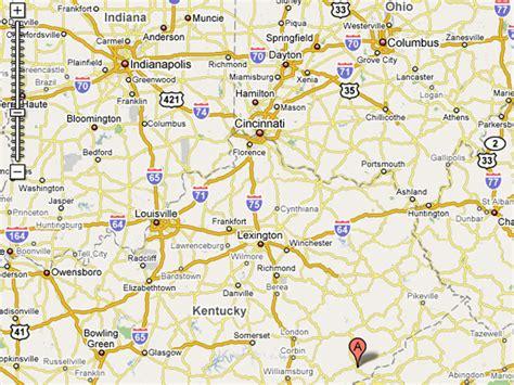 kentucky map harlan county bassethoundtown vlog 187 2008 187 august