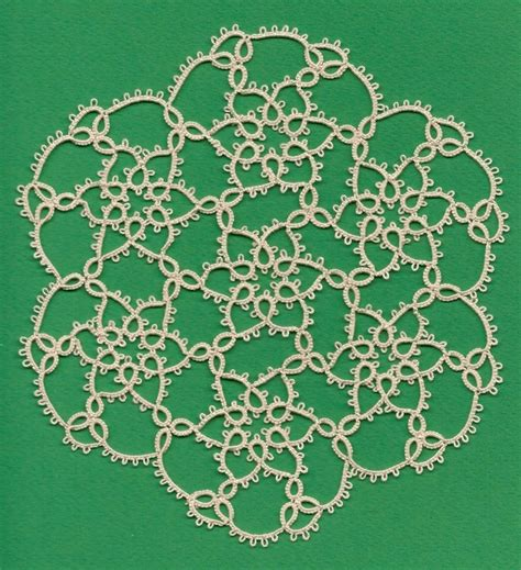 lada tulipano 17 best images about tatting on snowflakes