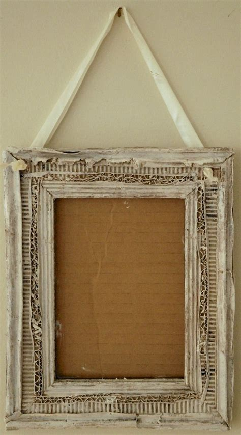 Handmade Cardboard Photo Frames - cardboard picture frame amazing craft picture frames