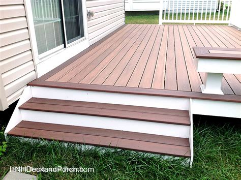 Composite Decking Brands deck steps gallery hnh deck and porch llc 443 324 5217
