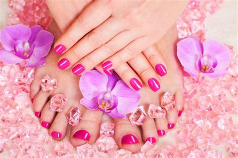 imagenes de uñas pintadas pies y manos manicura pedicura beauty center sants