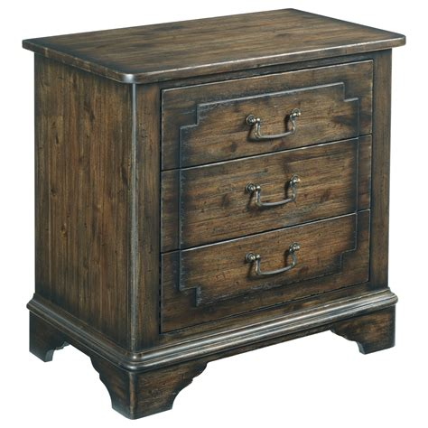 With Built In Nightstand furniture wildfire vintage nightstand with built in power and nightlight hudson