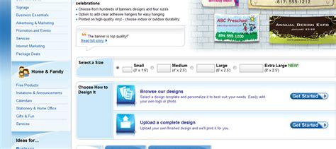 vistaprint banner design vistaprint banner