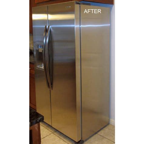 copper appliance frame panel set by stainless crafts refrigerator side panels frigo design