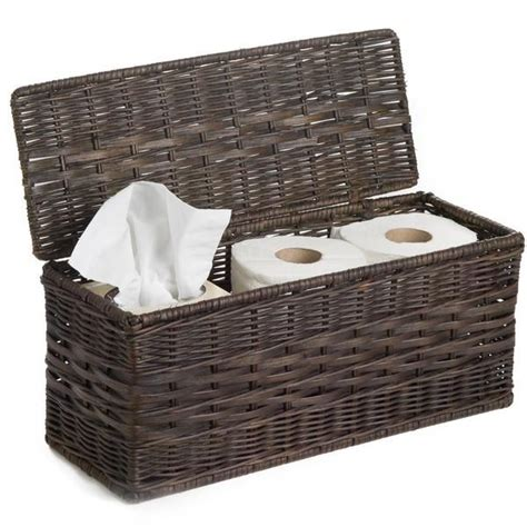 Wicker Basket Bathroom Storage Best 25 Toilet Paper Storage Ideas On Bathroom Storage Diy Half Bathroom Remodel
