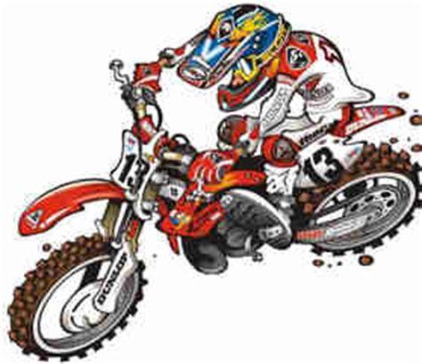 Motocross Motorrad Comic by O Que 233 Desenho Vetorial