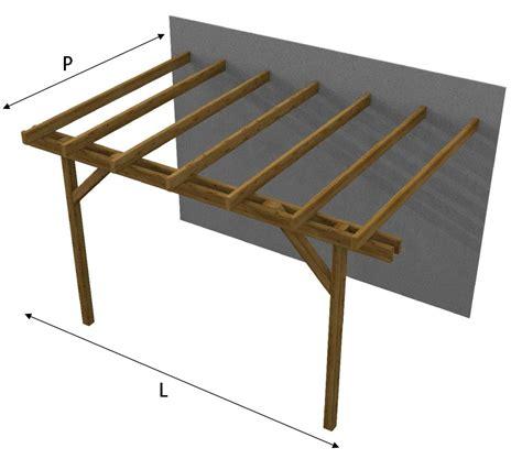 tettoia in legno autorizzazione tettoia copertura in legno doubleeasy economica addossata