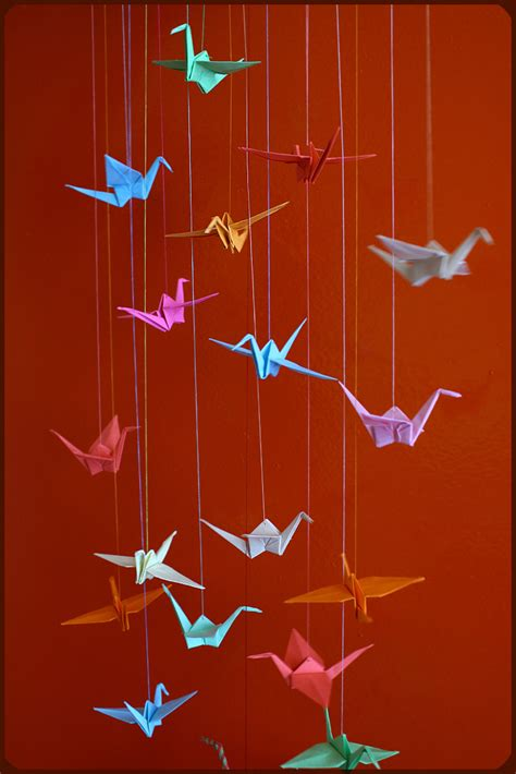 Origami Crane Story - paper cranes
