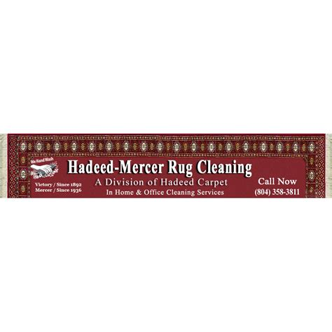 hadeed rug cleaning hadeed mercer rug cleaning inc in richmond va 804 358 3