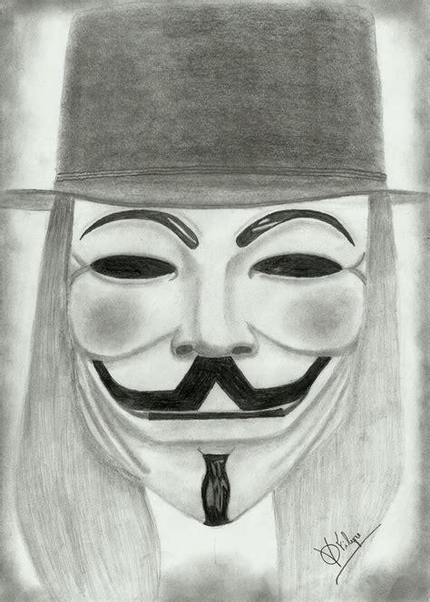 Drawing V For Vendetta by V For Vendetta By Ffilipes On Deviantart