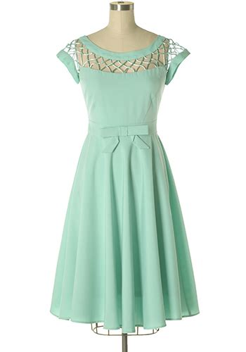 Dress Alika alika dress in sea glass 194 95 s vintage style
