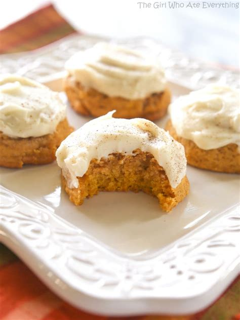 pumpkin cookies pumpkin spice cookies with cheese frosting recipes