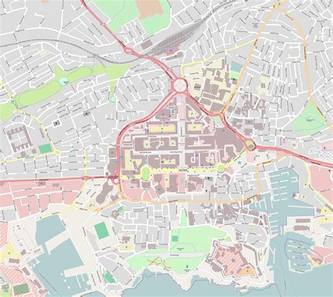 printable map exeter plymouth cathedral wikiwand