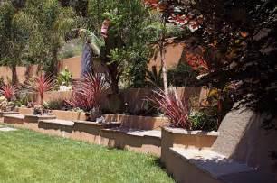 Design For Hillside Landscaping Ideas Vertical Landscapes Terraces Retaining Walls Residential Landscape Design