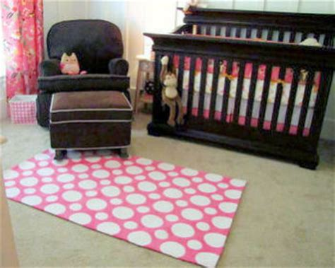 Pink And Brown Nursery Rug by Pink Rugs For A Baby Nursery Room