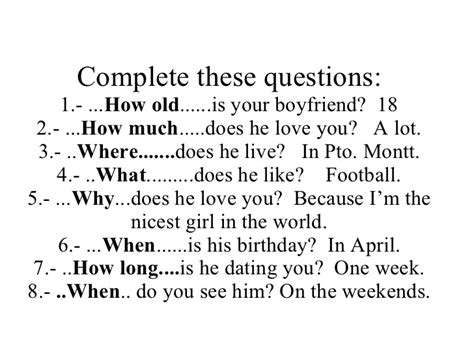 Or Question For My Boyfriend Question Words