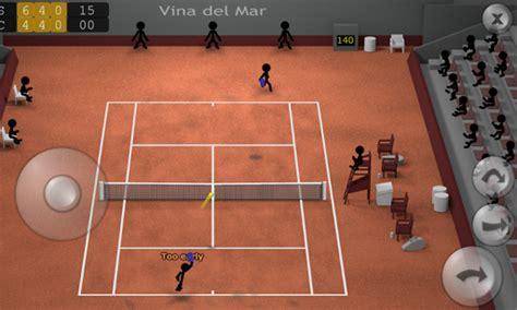 stickman tennis apk stickman tennis juego de tenis con hombres de palo apk