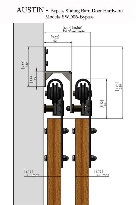 Bypass Door Lock by Best 25 Bypass Barn Door Hardware Ideas On