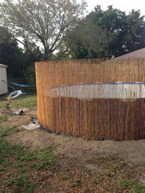 cheap  easy safty fence    ground pool
