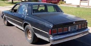 Chevrolet Caprice 1983 1983 Chevrolet Caprice Classic Information And Photos
