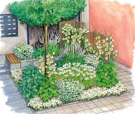 garten gestalten halbschatten vorgarten gestaltungsideen pflanzen und tipps mein