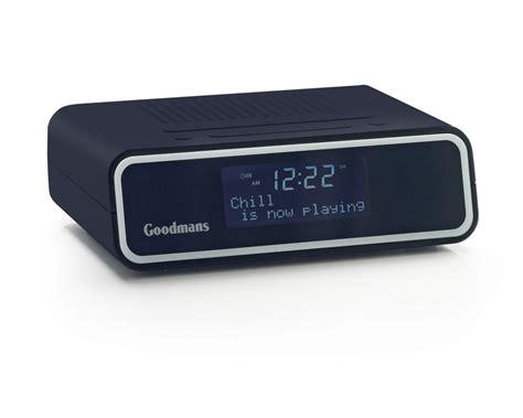 Alarm Digital goodmans gcr1880dabdab digital alarm clock radio