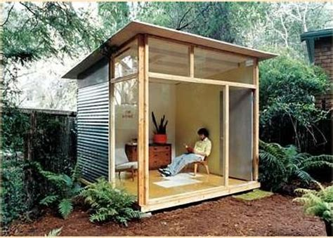 plans for a garden shed 15 modern sheds for the move home to treehugger