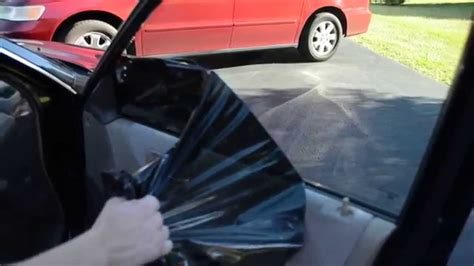 easily  cheaply remove window tint youtube